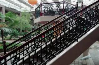 新郑庄园中式护栏