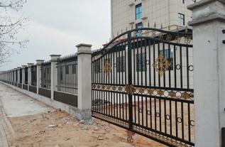 延津胡堤护栏-大门