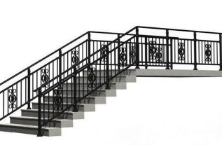 河南护栏厂家讲述学校楼梯扶手安装要求