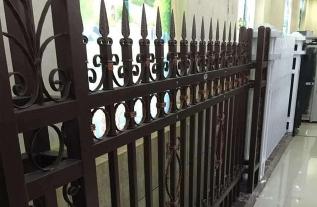 新型锌钢欧式护栏